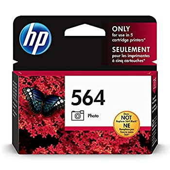 HP 564 | Ink Cartridge | Photo | Works with HP Photosmart D5225 D5460 D7560 7500 Series C6300 Series C510a C309g C310a C410a C309n C311a B8550 | CB317WN