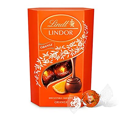 lindt lindor milk orange chocolate truffles box - approximately 16 balls, 200 g - the ideal gift - chocolate balls with a smooth melting filling Lindt Lindor Milk Orange Chocolate Truffles Box – Approximately 16 Balls, 200 g – The Ideal Gift – Chocolate Balls with… 51x052ysqEL