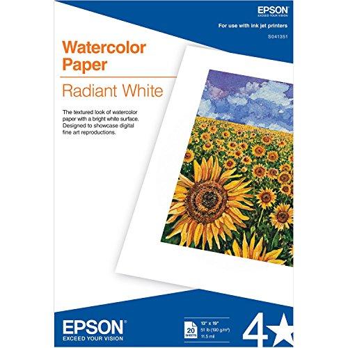Epson America S041351 Water color Super B Size 20 Pk