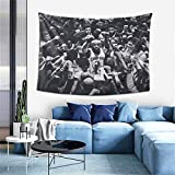 Lebron_Raymone_James Wall Hanging Tapestry, Sports Themed Party Decoration Boys Man Gifts Tapestries for Bedroom Living Room Dormitory One Size