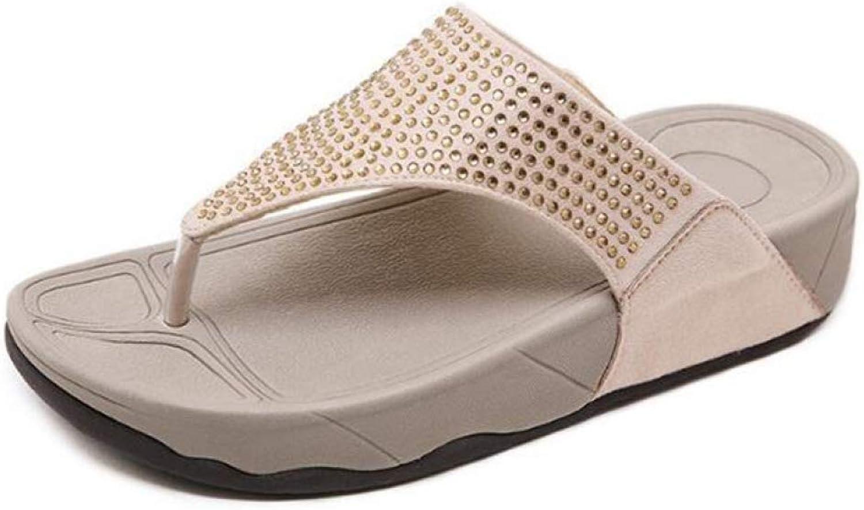 MEIZOKEN Women Slippers Flipflops Summer WomenCrystal Diamond Bling Beach Slides SandalsCasualshoes platformWoman shoes