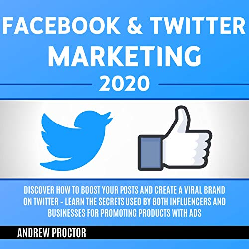 Facebook & Twitter Marketing 2020 cover art