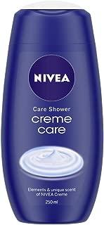 NIVEA Shower Gel, Crème Care Body Wash, Women, 250ml
