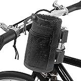 Parkarma Fahrrad Wasserflaschenhalter Bag Flaschenhalter Fahrrad Fahrradlenker Isolierte Vorbau-Tasche mit Verlängerungs-Kordelzug Geeignet für Kinderwagen und Fahrräder