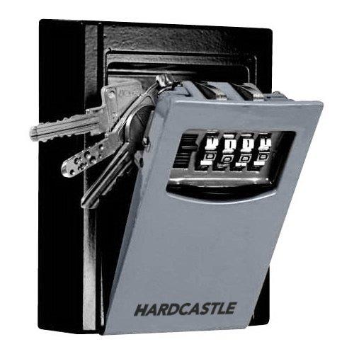 Hardcastle Hochsicherer Schlüsselkasten aus Stahl zur Wandbefestigung, mit Kombinationsschloss