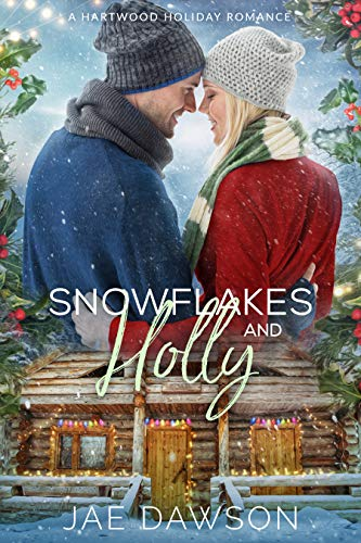 Snowflakes and Holly  by Jae Dawson