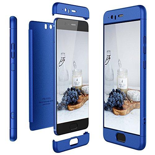 CaseLover Huawei P10 Plus Hülle, P10 Plus 3-in-1 Ultra Dünn 360 Grad Ganzkörper Protektor Telefon Kasten, Kratzer Beweisst Stoßsicherer Hülle PC Harte Schale Stoßstangen (5.5