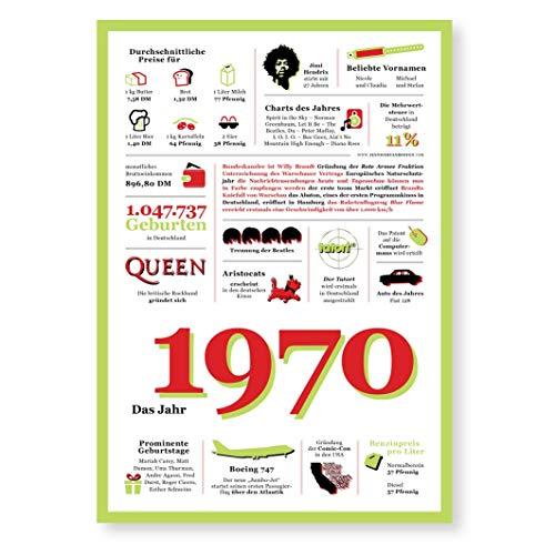Tolle Geschenkidee: Jahreschronik 1970