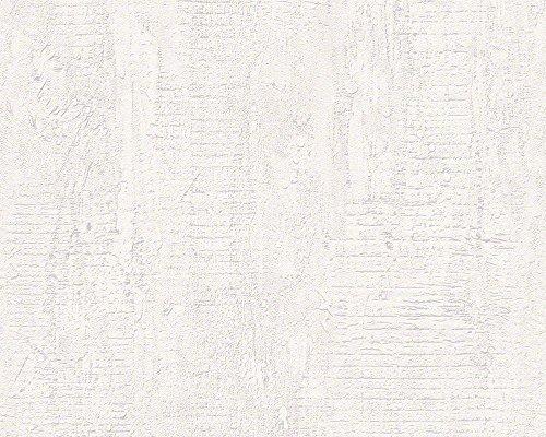 Schöner Wohnen 944264 Vliestapete Beton Concrete & More Tapete, Mustertapete in Betonoptik, creme, grau, 10,05 m x 0,53 m