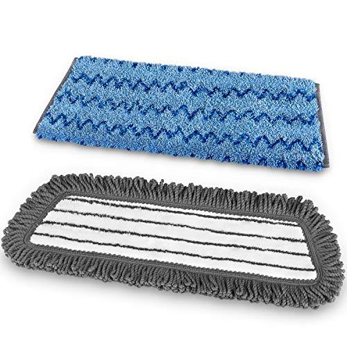 MR.SIGA ricariche mop da 18'in Microfibra Professionale, Confezione da 2