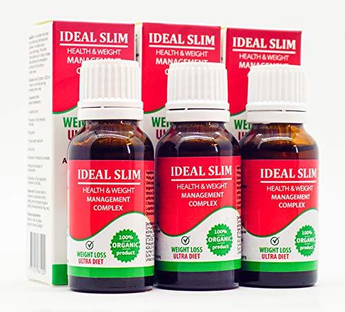 IDEAL SLIM - Complejo de salud y control de peso juego de 3