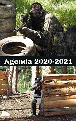 Agenda Escolar 2020-2021 / 300 páginas / Portada PAINTBALL