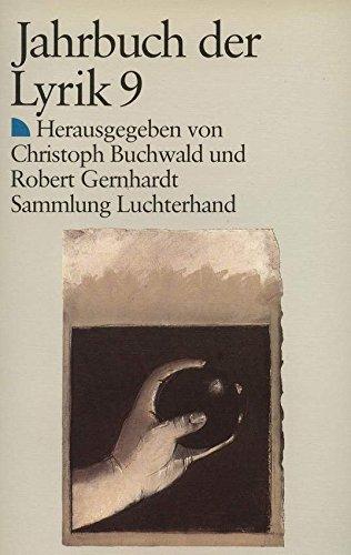 Jahrbuch der Lyrik VIIII. Im Übergangsmantel zu singen.