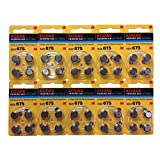 Kodak補聴器用空気電池 P675 (PR44) 10パックセット(40粒)