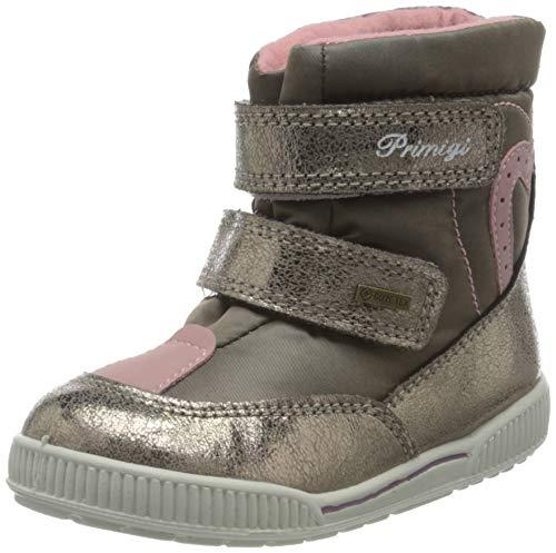 Primigi Baby Mädchen PRIGT 63619 First Walker Shoe, Taupe/Pietra, 23 EU