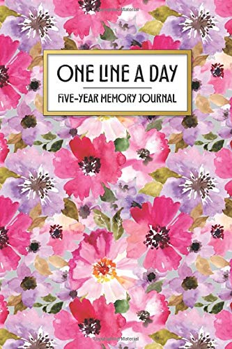 One Line a Day - Five Year Memory Journal: Beautiful Pocket Sized 5-Year Mindful Journal of Personal Memories - Great for New Parents, Marriage, ... Print (4x6 Pocket One Line a Day Journal)