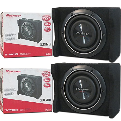 Pioneer TS-SW2002D2 8-inch Shallow-Mount Subwoofer 600 Watts Peak