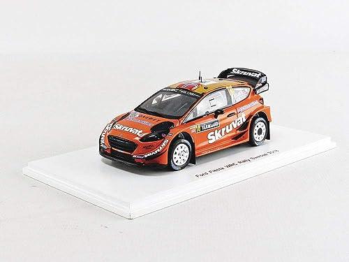SPARK- Voiture Miniature de Collection, S5968, Orange