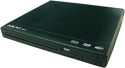 Akai AKDV01 DVD Player Noir Lecteur DVD – Lecteurs DVD (NTSC,PAL, MPEG4, MP3, CD..