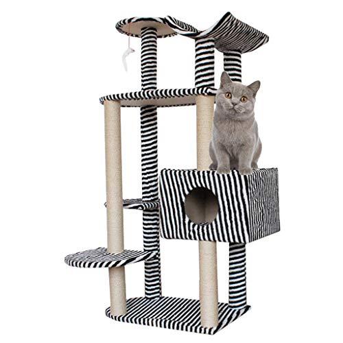 Cat tree Árboles para Gatos Cat Tower Four Seasons Universal Cat Escalada Marco Luxury Cat Villa Gran Cat Frame Cat Litter Cat Cat Jumping Cat Furniture