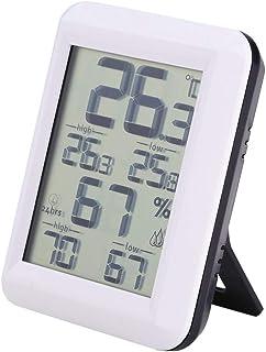 TAKE FANS Hygromètre numérique - Moniteur d'humidité à thermomètre intérieur avec jauge d'humidité de la température