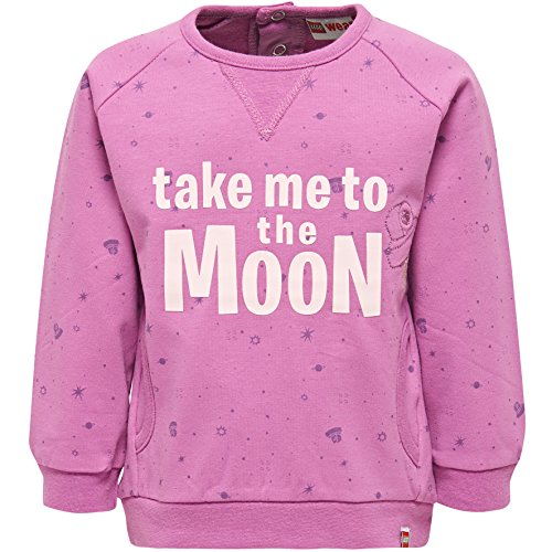 Lego Wear Duplo Girl Stina 602-SWEATSHIRT Sweat-Shirt, Violet (Purple 486), 4 Ans Bébé Fille