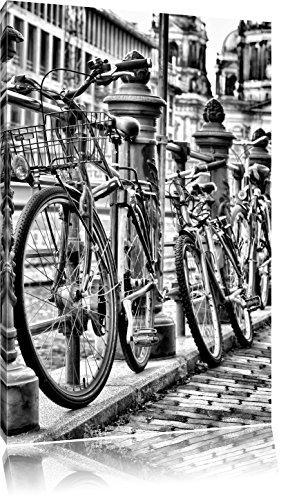 Bike Station, BMX-parcours spoorFoto Canvas | Maat: 60x40 cm | Wanddecoraties | Kunstdruk | Volledig gemonteerd
