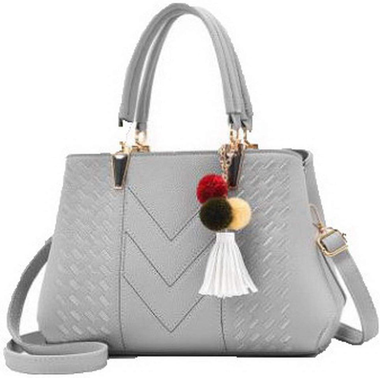 AllhqFashion Women's Tassels Fashion Shoulder Bags Evening Fun Crossbody Bags, FBUBC181734