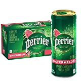 Perrier Watermelon Flavored Carbonated Mineral Water, 8.45 fl oz. Slim Cans (10 Count)