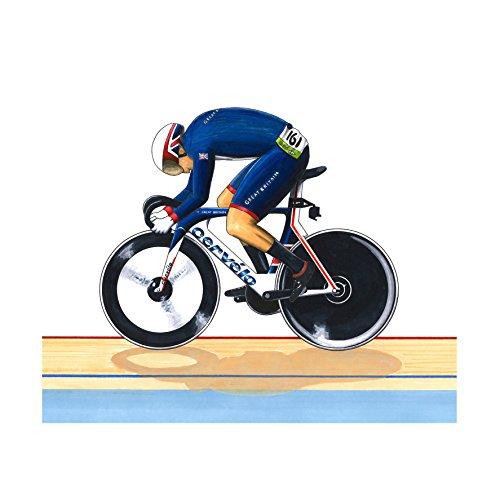Jason Kenny - Einzelsprint - Rio 2016 Olympics Grußkarte