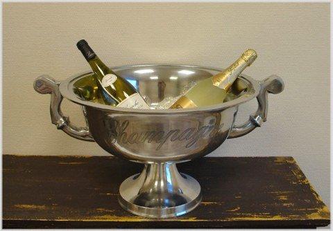 Opulenter seau à champagne format xXL bol à champagne ø 49 cm