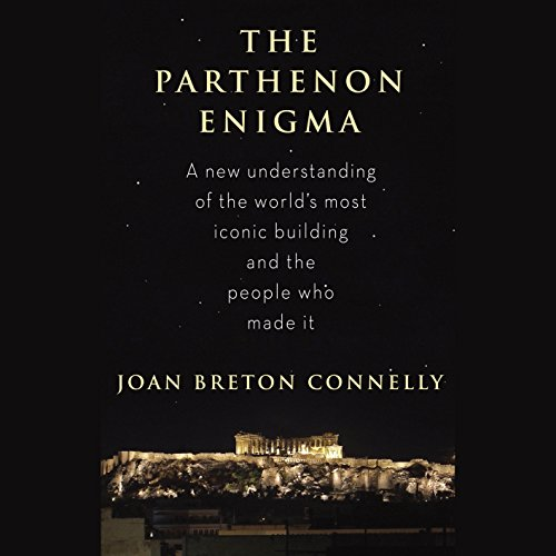 The Parthenon Enigma audiobook cover art