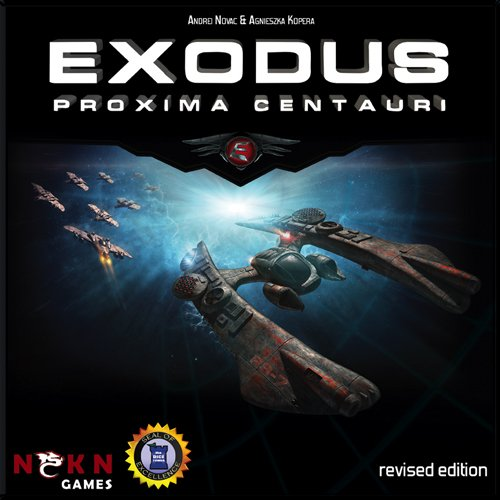 Exodus: Proxima Centauri - Revised Edition - Board Game - Englisch
