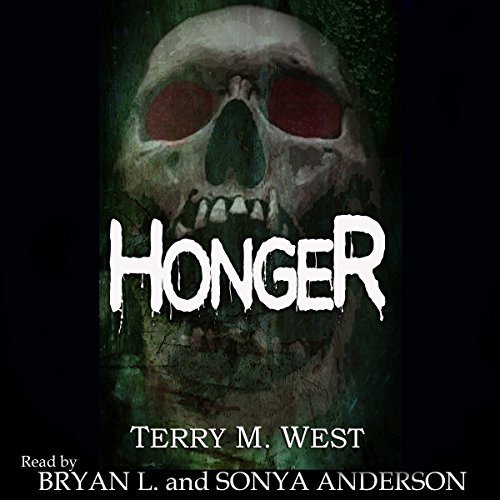 Honger audiobook cover art