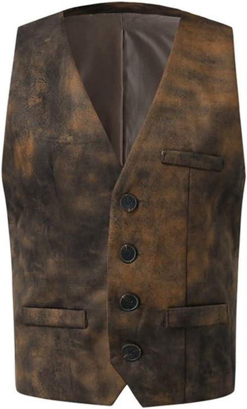 Japan's largest assortment QWERBAM Dress Vests Men Slim Fit Minneapolis Mall Vest Male WaistcoatSl Suit Mens