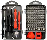 Precision Screwdriver Set, Maxela 115 in 1 Cell Phone and Electronics Repair Kit with 98 Bits Magnetic Multipurpose Toolkit for PCs, Laptops, iPad, iPhone