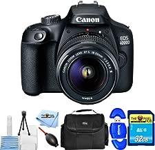 Best canon eos 4000d dslr camera Reviews