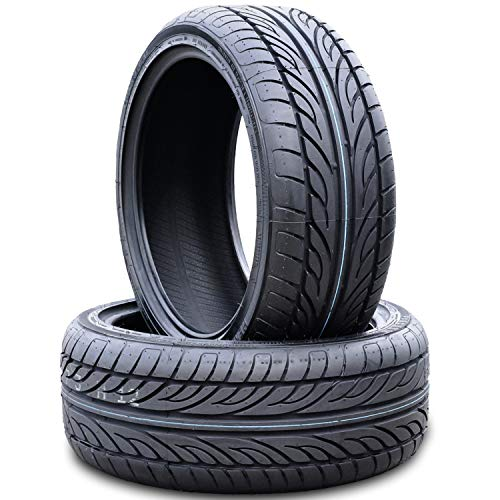 Set of 2 (TWO) Forceum Hena All-Season Performance Radial Tires-205/55R15 205/55/15 205/55-15 88V Load Range SL 4-Ply BSW Black Side Wall
