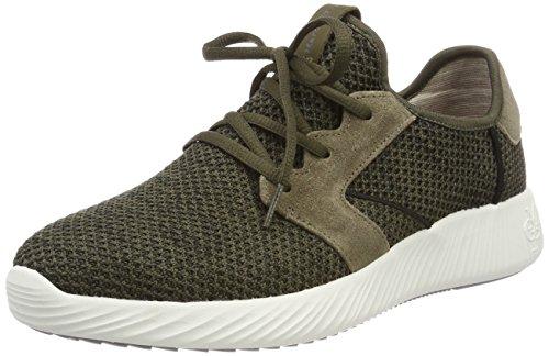 Marc O'Polo Herren 80124313501601 Sneaker, Grün (Oliv Multi), 44 EU