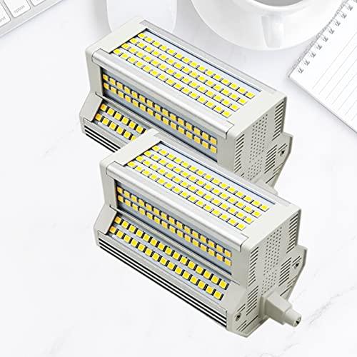 Bulbs 2X 50W R7S Dimmerabile J118 Lampadina LED 110-240V 118mm Lampadina alogena 500W Doppia estremità di Ricambio Tipo J