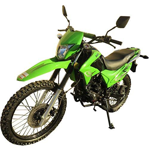 250cc Dirt Bike Hawk 250 Enduro Street Bike Motorcycle Bike ?Green