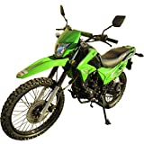 250cc Dirt Bike Hawk 250 Enduro Street Bike Motorcycle Bike ?Green by RPS
