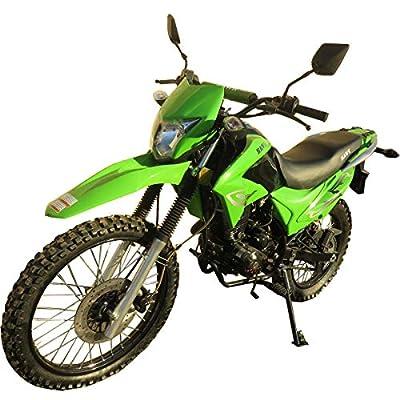 250cc Dirt Bike Hawk 250 Enduro Street Bike Motorcycle Bike ?Green by RPS