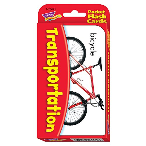 Transportation Pocket Flash Cards