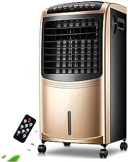 JCJ-Shop Unidad De Aire Acondicionado PortáTil 4 En 1 De 30.7 Pulgadas, Control Remoto Inteligente, OscilacióN AutomáTica, Enfriadores De Aire De 80 Vatios, Temporizador De 7.5 Horas, Dorado