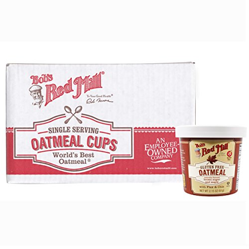 Bob's Red Mill Gluten-Free Oatmeal Cup & Maple, Brown Sugar, 2.15 Ounce