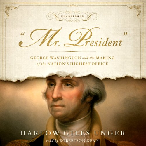 'Mr. President' audiobook cover art