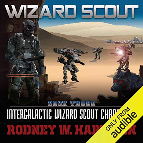 Wizard Scout audiobook cover art