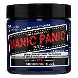 Manic Panic - Shocking Blue Classic Creme Vegan Cruelty Free Blue Semi Permanent Hair Dye 118ml