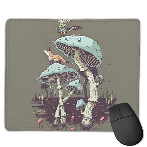 Elven Ranger - Tappetino per mouse da ufficio, per scrivania, tastiera, grande tappetino per computer da 18 cm di lunghezza e 22 cm di larghezza